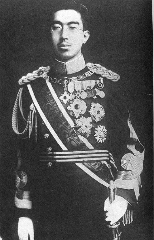 Hirohito, emperador japonés de la época.