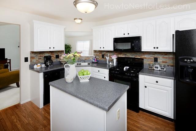 Kitchen Ideas with Black Appliances