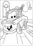 Dibujos De Cars Una Aventura Sobre Ruedas Para Colorear Páginas