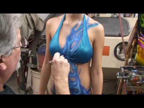 Body Painting Miami Beach, Body Art by Cjay, Body Paint, Airbrush Body art