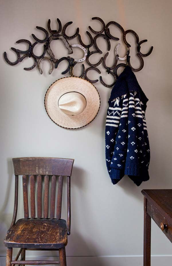 18 Super Cool Diy Horseshoe Projects That Will Add Charm To Your