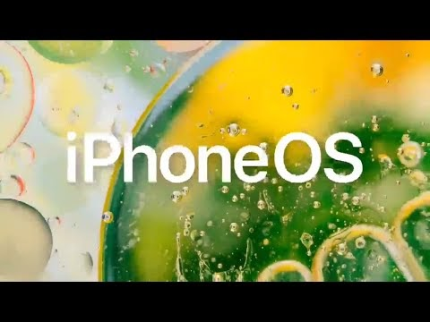 iPhone OS leaked promo | WWDC 2020