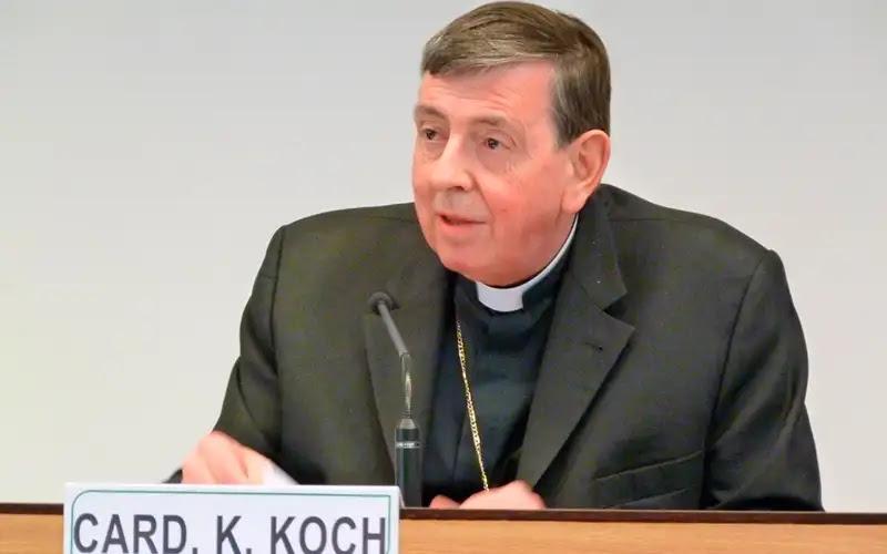 Cardenak Kurt Koch. Foto: Marta Jiménez / ACI Prensa