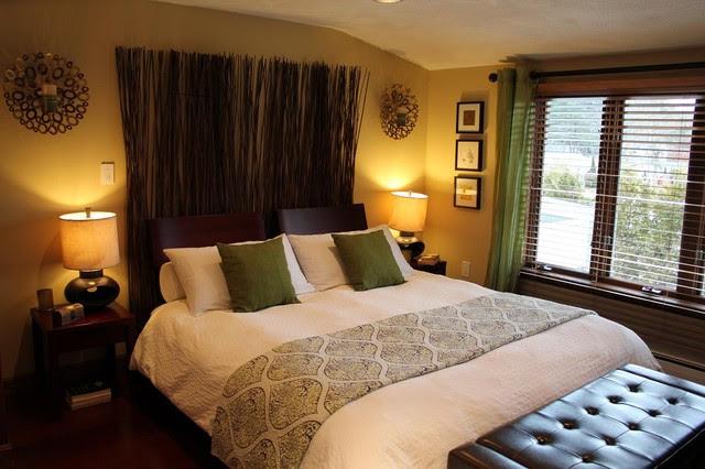 Indonesian/Asian master bedroom - Eclectic - Bedroom ...