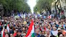 Tens Of Thousands In Hungary Protest Far-Right Leader Viktor Orbán