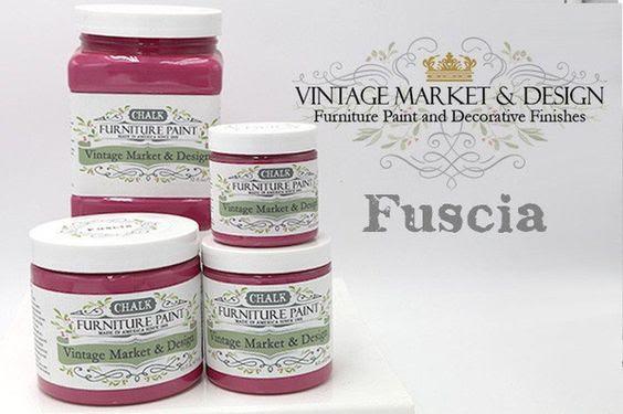 Fuscia Vintage Market Design Furniture Paint Hifalutin Chic