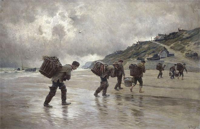 Arquivo: Georges-Philibert-Charles Maroniez - Pêcheurs d'Equihen (1902) .jpg