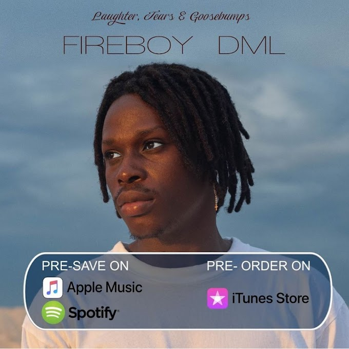 "Fireboy DML Reveals Tracklist Of His ""Laughter, Tears & Goosebumps"" Album"