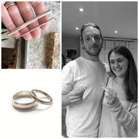 James and Ruth make their own wedding rings   Sue Lane