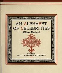 Open Library: Details: An alphabet of celebrities