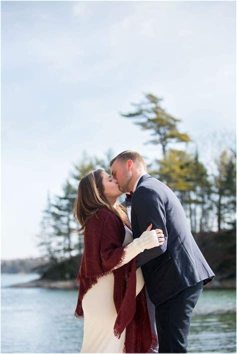 Wolfe's Neck Elopement   New England Wedding Photographer