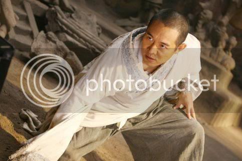 Jet Li always looks angry... :(
