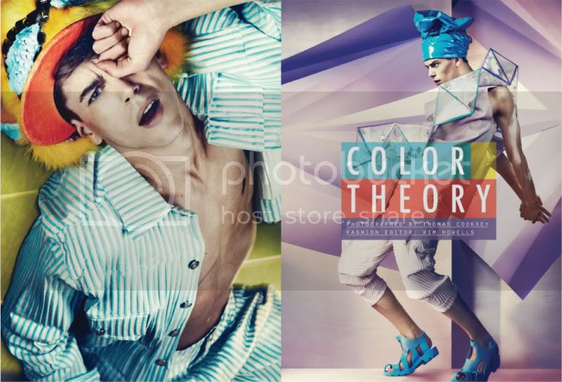 Contributing Editor May 2010 - Color Theory @ StreetStylista.Guy