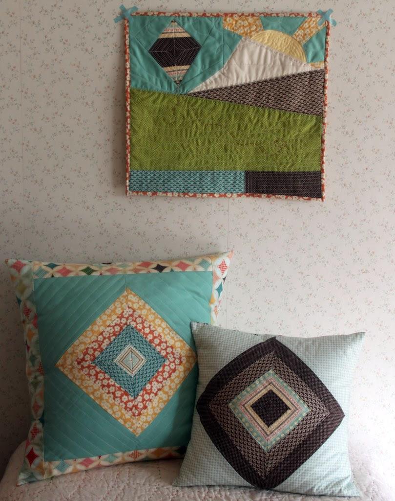 Fly A Kite Pillows & Mini