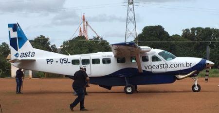 Prefeitura realiza obras no aeroporto de Confresa e tenta renovar autorização para o retorno dos voos comerciais