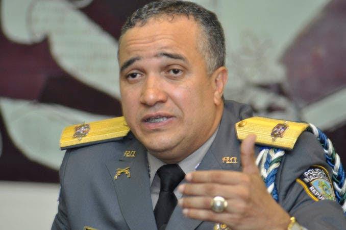 El director General de la Policía Nacional, Ney Aldrin Bautista Almonte /Pablo Matos