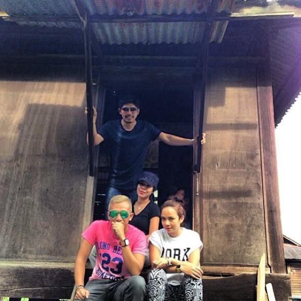 Foto Nora Danish Dan Nadeem Datuk Seri Nazri Bercuti Bersama Di Thailand