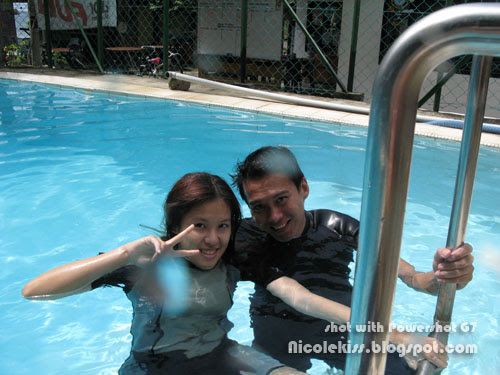 me and gerald in pool