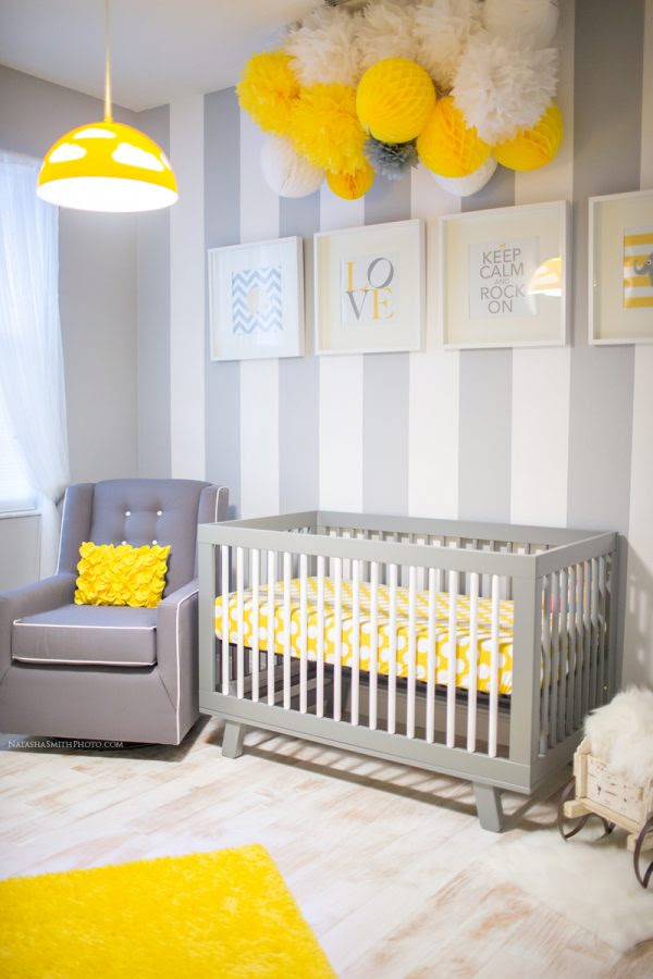 Awesome Yellow Baby Nurseries - Design Dazzle