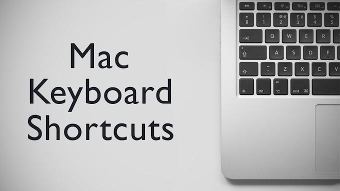 All Keyboard Shortcuts of Mac