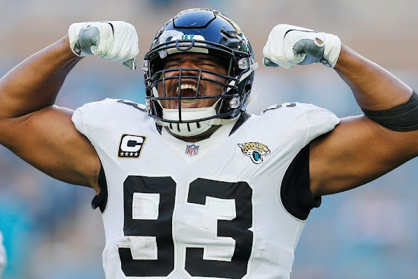 da487452 The 20 most important Jaguars for 2019 season: No. 11 Calais Campbell