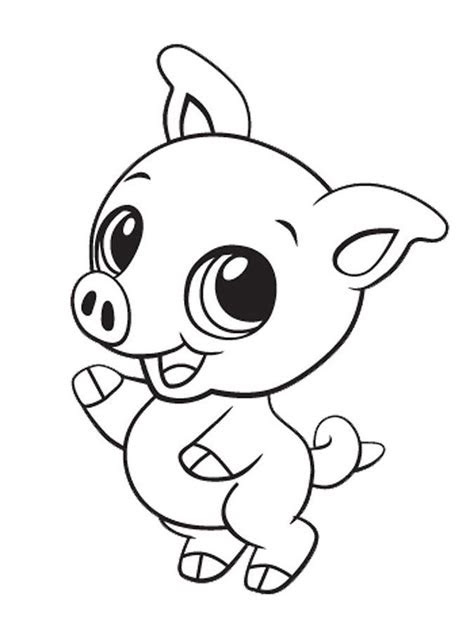 cute kawaii animals coloring pages coloring pages