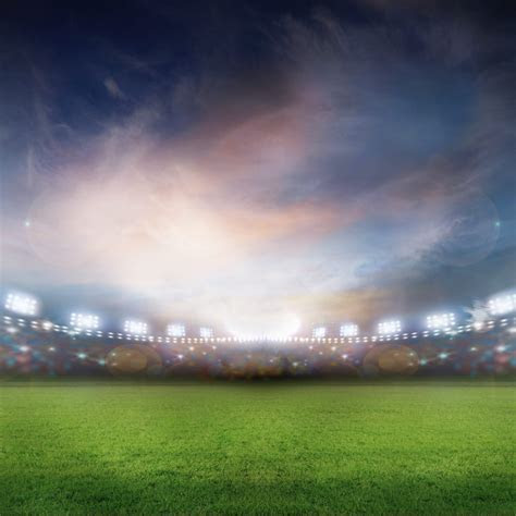 Landscape Stadium green   wallpaper.sc iPad