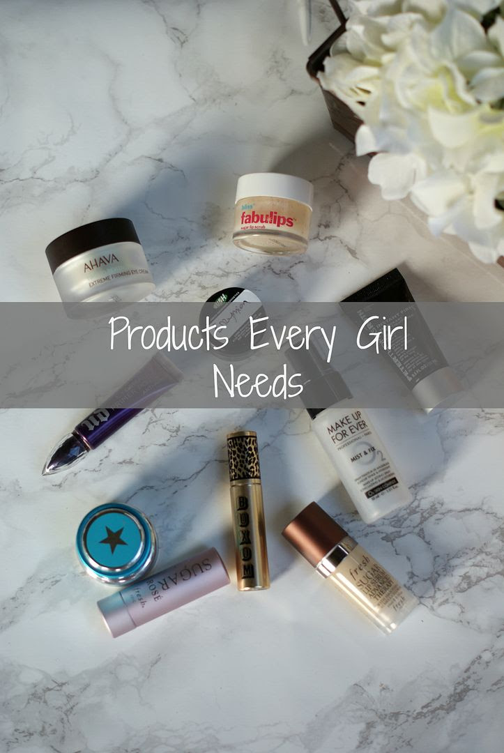 Products every girl needs