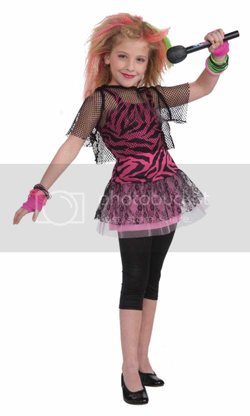 1980s punk rock star girl halloween costume 80s outfit