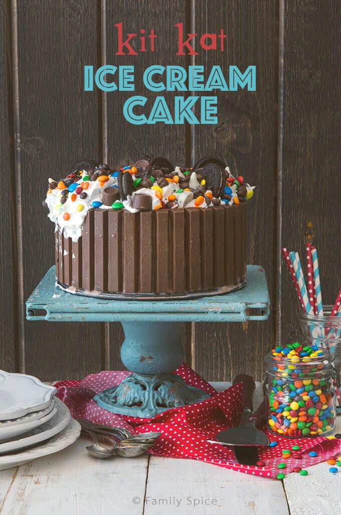 Candy Shop Kit Kat Ice Cream Cake Family Spice