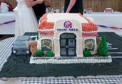 Taco Bell Wedding Cake ? Candy Cake Weddings Favors and