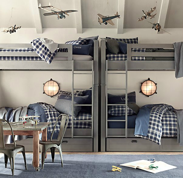 Gray Boys' Room Ideas 19
