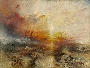 The slave ship by turner