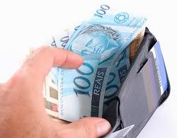 carteira dinheiro