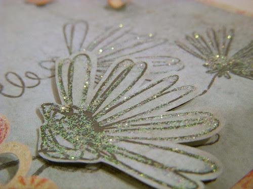 Glittered Flowers