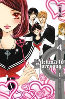 Couverture Akuma to Love Song, tome 04