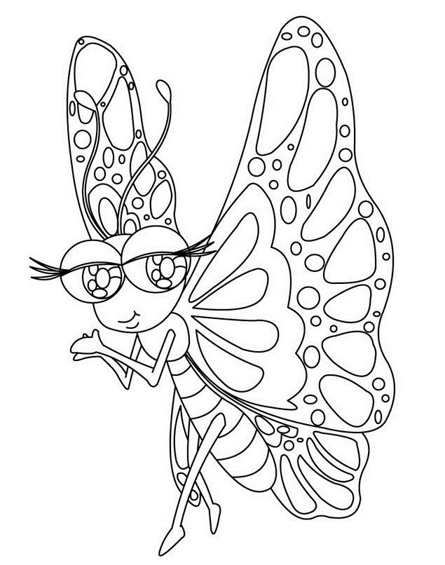 Dibujos Para Colorear De Mariposas Monarcas Ideas Consejos