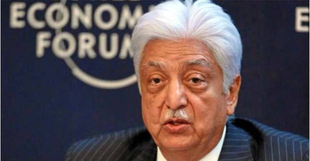 Chairman of Wipro, Azim Premji has announced 34 percent of his organization's share to Philanthropy