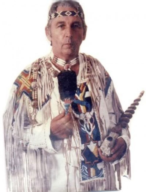Chief Two Trees of Old Fort, North Carolina. Creator and founder of Native American Studies Institute.