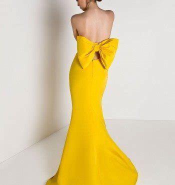 Silk Faille Bow Back Mermaid Gown   Alexia Maria