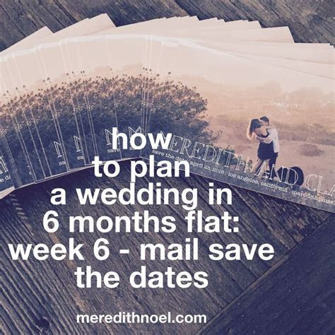 how to plan a wedding in 6 months flat: week 6   wedding