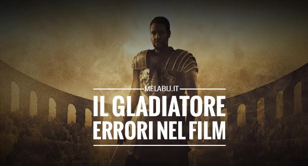 Errori nel film Il Gladiatore