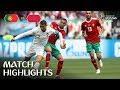 Portugal le ganó por la mínima diferencia a Marruecos.