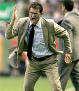 Capello - disguised as an Italian