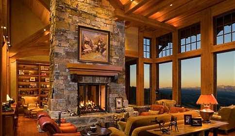 Stacked Stone Fireplace Pictures . . . Simply STUPENDOUS!