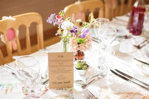 Charlotte and George's informal English country wedding