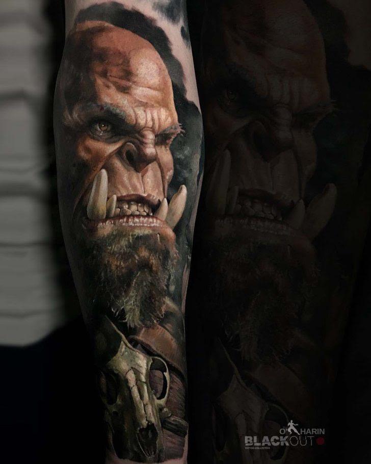 World Of Warcraft Tattoo Orc Best Tattoo Ideas Gallery