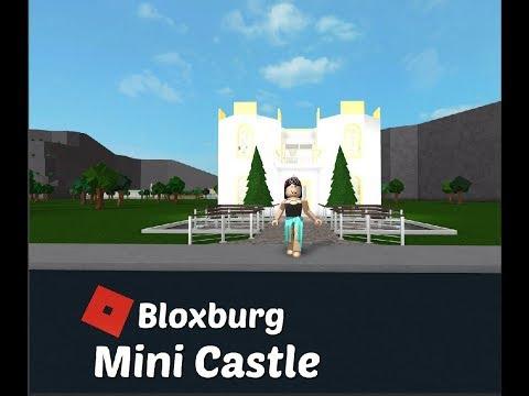 Roblox Bloxburg Mini Castle Speed Build Sara Plays Now - roblox bloxburg castle
