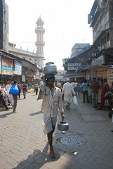 The Water Seller of Zaveri Bazar by firoze shakir photographerno1