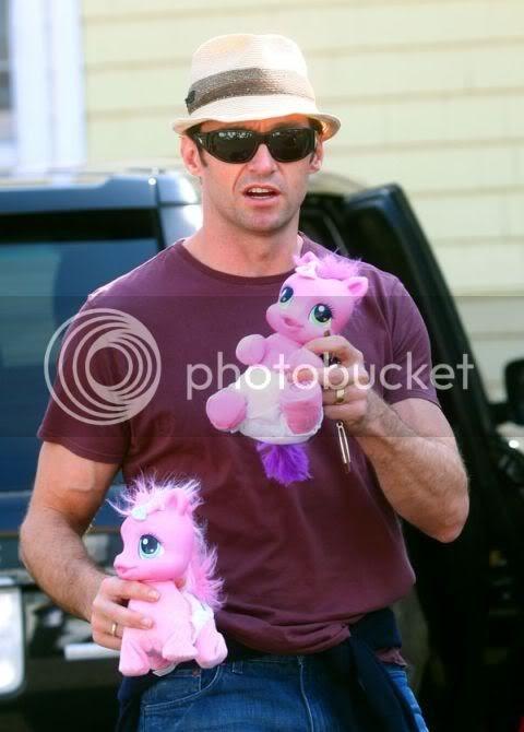 quando hugh jackman incontra i mio mini pony